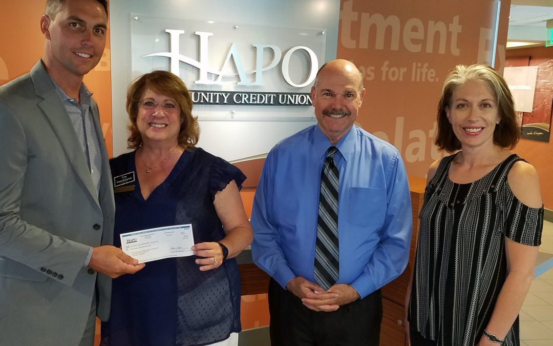 Hapo Makes $5000 Donation To Foundation